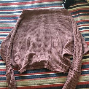 Free People Cowel Neck Sweater, Size S